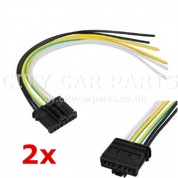 2 x Citroen C2 Peugeot 207 307 308 Rear Tail Light Lamp Bulb Holder Wiring Harness